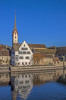 Stein am Rhein mit Kloster St. Georgen