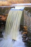 Small Stream Running in Winter