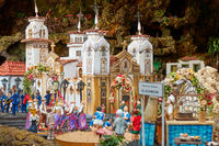Christmas Belen -  Town in small-scale