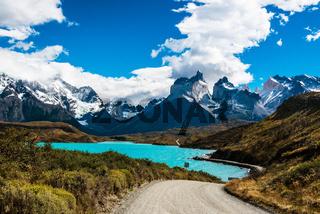 Torres del Paine, Nationalpark , Patagonien , Chile