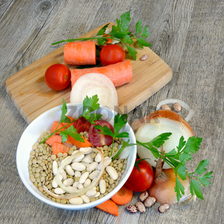 ingredients for soups