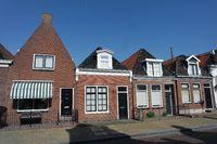 Backsteinhäuser in Friesland, Niederlande