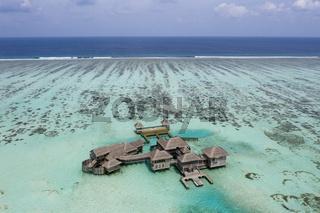 Touristeninsel Lankanfushi, Malediven