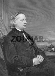Henry Ward Beecher, 1813 - 1887, an American clergyman