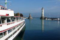 Hafeneinfahrt von Lindau