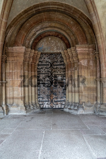 Portal der Klosterkirche im Kloster Maulbronn