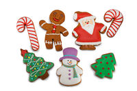 Collection of Christmas cookies