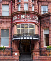 the metropole hotel on King Street in leeds built in 1889 on the site of the 4th White Cloth Hall