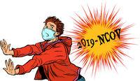 Panic, Novel Wuhan coronavirus 2019-nCoV epidemic outbreak