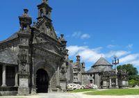 Pfarrbezirk Guimiliau in der Bretagne