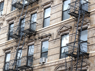fire escapes in New York