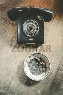 Smoking phone