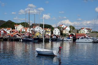 Haelleviksstrand auf der Insel Orust in Schweden
