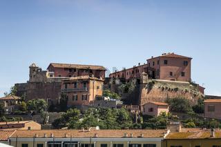 Portoferraio, Altstadt, Elba, Toskana, Italien