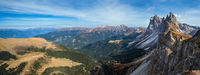 Autumn Seceda rock,  Italy Dolomites