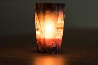 idyllische Stimmung bei Kerzenlicht - Tiefenunschärfe