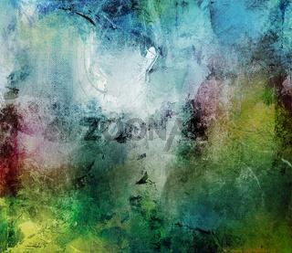 farben abstrakt kontraste leinwand