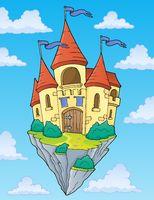 Flying castle theme image 2