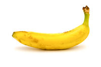 Well yellow banana on