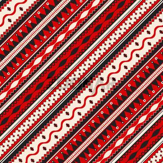 Romanian traditional pattern 75