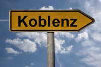 Wegweiser Koblenz | signpost Koblenz