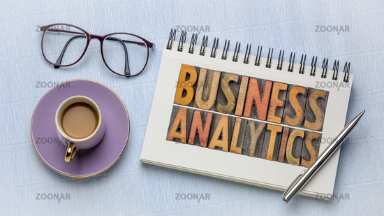 business analytics in wood type