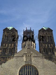 Münster - St. Ludgeri-Kirche, Deutschland