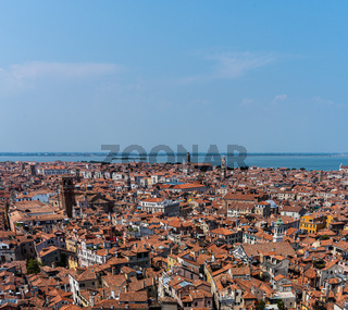 A summer day in venice, italy