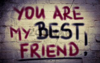 You Are My Best Friend Concept