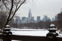 New York City in winter