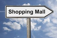 Wegweiser Shopping Mall | signpost Shopping Mall
