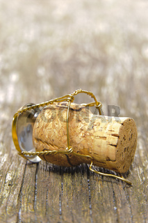 cork of champagne