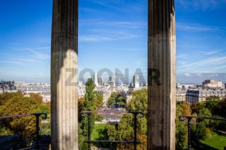 Sibyl temple in Buttes-Chaumont Park, Paris