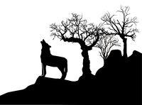 einsamer Wolf.eps