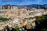 Antike Stadt in der Türkei