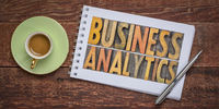 business analytics - data analysis, research and statistics concept