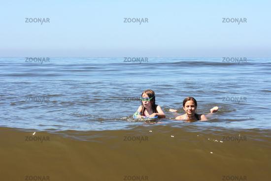 Badespass  Fun in the sea