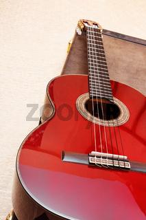 Akustische Gitarre.
