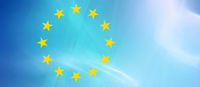 eu europa symbol flagge freiraum