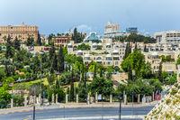 The magnificent white stone Jerusalem