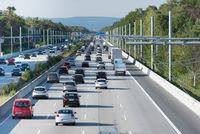 E-Highway bei Darmstadt