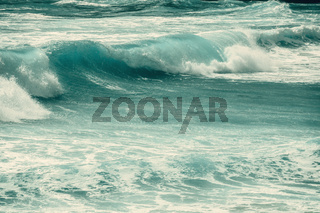 rough ocean surface background