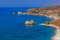 Aphrodite rock in Paphos Cyprus