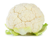Fresh Cauliflower isolated on white background, including clipping path without shade. Germany