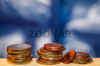Banknoten und Münzen sind Grundlage für ein erfolgreiches Geschäfft.