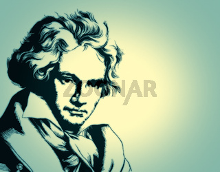 Ludwig van Beethoven, 1770 -1827,  German composer