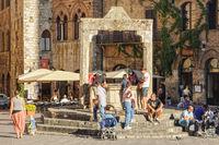 Cisterna - San Gimignano