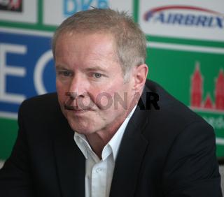 Cheftrainer Uwe Jungandreas (SC Magdeburg,Handball-Bundesliga Saison 2013/14)