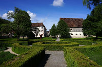 Parkanlage beim Wasserschloss in Glatt bei Sulz am Neckar