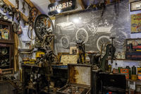 Old Shop in the Motor Museum at Bourton-on-the-Water